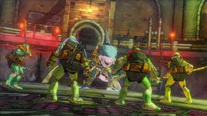 teenage mutant ninja turtles mutants manhattan game ps4