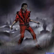 thriller zombies drawings how to draw michael jackson thriller