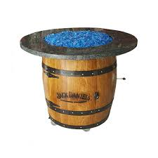 wine barrel fire table wine barrel fire pit propane j c s unbarrelables