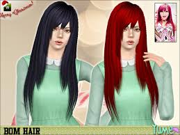 hair color to download for sims 3 zauma s yume bom hair