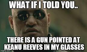 Keanu Reeves Meme Generator - matrix morpheus meme imgflip