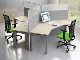 bureau rond bureau open space 4 personnes mobilier design si ges et fauteuils