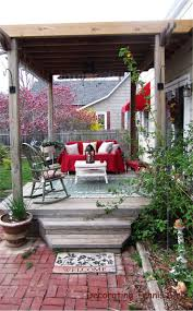 Backyard Decks And Patios Ideas by 50 Best Deck Images On Pinterest Outdoor Spaces Covered Deck