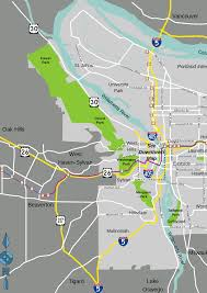 Map Downtown Portland by File Portland Map Svg Wikimedia Commons
