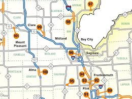 Midland Zip Code Map by Six Major Road Construction Projects For Saginaw And Midland In
