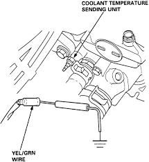 repair guides sending units engine coolant temperature sending