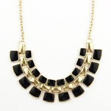 trendy necklace pendants images Trendy necklaces pendants link chain collar long plated enamel jpg