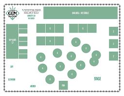 New Orleans Floor Plans The Little Gem Saloon U2013 Private Event Floor Plans
