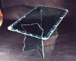 Best  Custom Glass Table Tops Ideas On Pinterest Table Bases - Design glass table