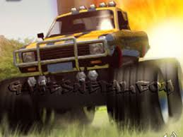 monster truck rampage free games play flash arcade