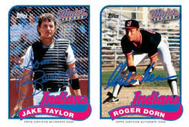 Major League Movie Meme - topps to produce baseball cards of players from the film major league
