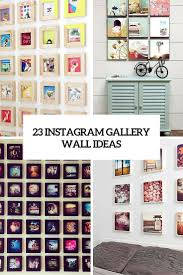wall photo collage ideas without frames instagram gallery wall