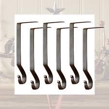 hangers holders metal black or set of 6 ebay