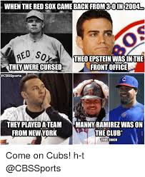 Red Sox Meme - when the red sox came back from 30 in 2004 red so theo epstein