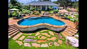 backyard landscaping ideas with above ground pool with pallets