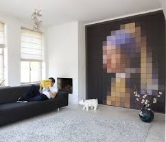 Decorating Living Room Wall Decorate Order The Ixxi Wall Decoration With A Pearl Earring By