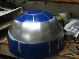 full size r2d2 on a budget 9 steps with pictures