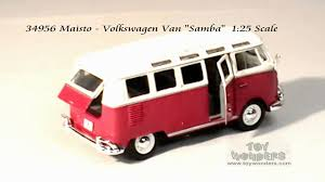 volkswagen van 34956 maisto volkswagen van samba 125 scale diecast wholesale mpg