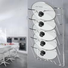 kitchen cabinet door pot and pan lid rack organizer lhcer wall door mounted kitchen cabinet storage rack holder for pot pan lids pan lid holder pan lid storage rack