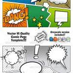 comic book template powerpoint comic book template powerpoint