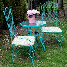 Repainting Wrought Iron Furniture by Gardening In A Small Space On A Tight Budget Beautiful