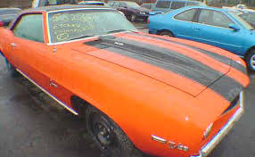 camaro salvage yard project cars for sale