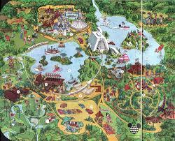 Disney Park Maps A Map Of The World U2014 Sean Adams