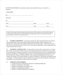 lease agreement template u2013 15 free word pdf documents