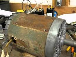 5hp single phase dayton farm duty electric motor youtube