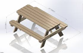 free plans for round wood picnic table woodworking plan directories
