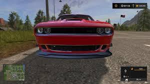 hellcat challenger 2017 dodge challenger srt hellcat v1 0 for fs17 farming simulator