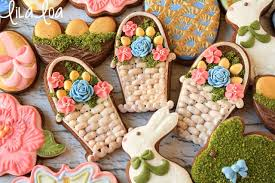 decorating easter baskets how to make decorated easter basket cookies lilaloa how to make