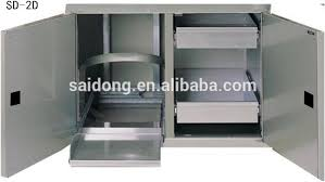 Stainless Steel Outdoor Storage Cabinet Bbq Components Outdoor - Stainless steel kitchen storage cabinets