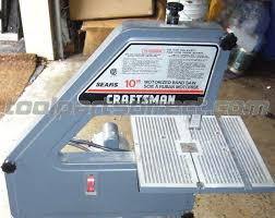 craftsman 10 inch table saw parts craftsman 9443 type 1 10 band saw parts tool parts direct