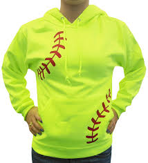 amazon com zone apparel women u0027s softball hoodie sweatshirt