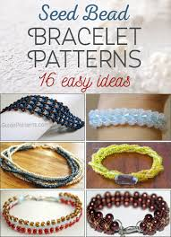 bracelet patterns free images 16 easy seed bead bracelet patterns guide patterns jpg