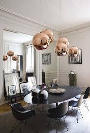 glamorous dining room decor rustic buffet kitchen black ellipse