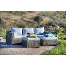 mercury row amezcua 3 piece deep seating group with cushion