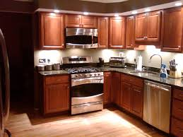 recessed lights and undercabinet lights in a kitchen foley