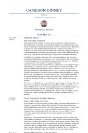 college advisor resume best resume collection
