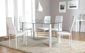 Glass Dining Tables And 6 Chairs Modern Glass Dining Table Set Glass Dining Table Set 6 Chairs