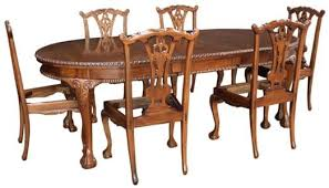 Antique Mahogany Dining Room Furniture Chair Good Looking Mahogany Dining Table And Chairs Chippendale