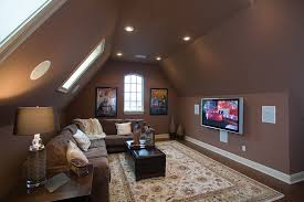 Media Room Designs - 39 attic living rooms that really are the best adorable home com