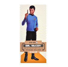dr mccoy star trek greeting card with sticker sheet pink cat shop