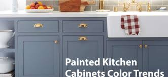 what colors are trending for kitchen cabinets painted kitchen cabinet color trends michael