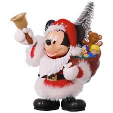 disney mickey mouse here comes santa ornament keepsake