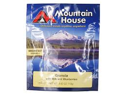 Mountain House Food by Mountain House Granola Blueberries Milk Freeze Dried Food Mpn 53449