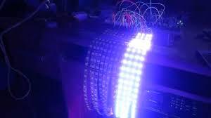 10 meter led strip lights lm3915 rgb led strip vu meter 1 2 youtube