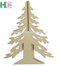 Wooden Toy Christmas Tree Decorations - 3d laser cut wooden toy christmas tree buy 3d wooden decoration