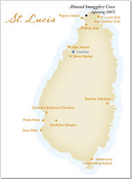 almond resort map almond smugglers cove castries st lucia